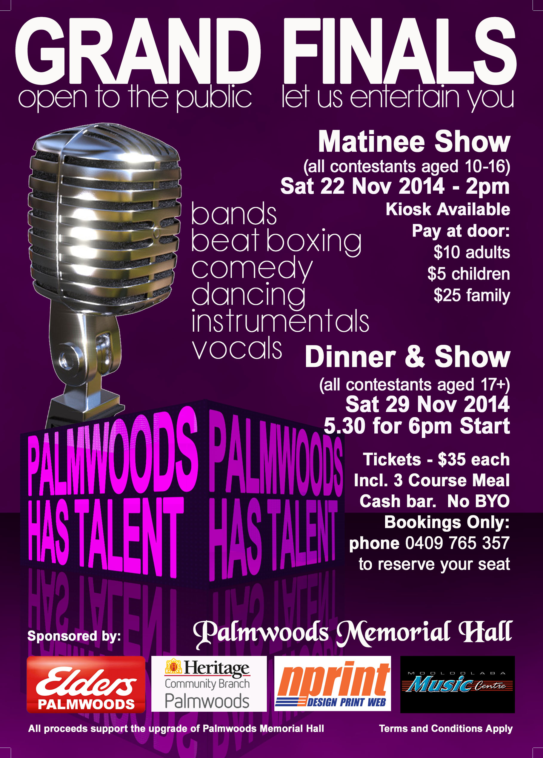 Palmwoods Has Talent
